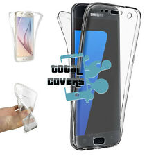 "eg Funda Carcasa Gel Antichoque 360º Transparente Samsung Galaxy S7 Edge (5.5"")"