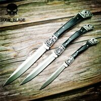 3PCS/LOT Folding Knives Resin Handle Pocket Knife Camping Hunting Survival Tool