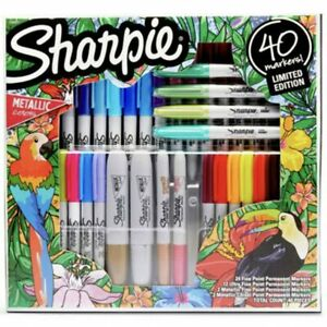 Sharpie Limited Edition 40 Marker Set - Permanent Markers