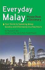 Everyday Malay 'Phrasebook and Dictionary Oey, Thomas G.
