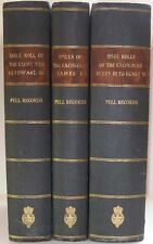ENGLISH MIDDLE AGES MEDIEVAL PELL RECORDS ON DOCUMENTS POLITICS LAW GOVERNMENT