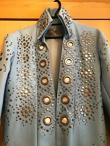 Elvis B&K Jumpsuit Powder Blue