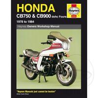 Honda CB 900 F2 Bol d?Or 1982 Haynes Service Repair Manual 0535