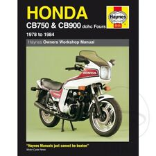 Honda CB 900 F2 BOL D? o 1982 Haynes Manual de reparación de servicio 0535