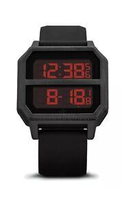Adidas Men's Archive R2 Black Silicone Quartz Fashion Digital Watch by NIXON New