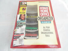 NEW SEALED ULTIMATE HOME OFFICE ORGANIZER CD-ROM 5 DISC SET