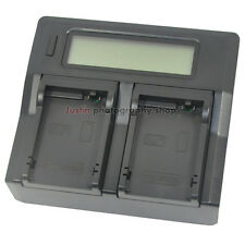 LCD-Display Battery Charger For Canon LP-E8 LPE8 EOS 550D 600D Kiss X4 LC-E8E