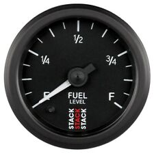 Auto Meter St3315 Gauge Fuel Level Prostpr 52mm Blk 280ohm Prgrm New