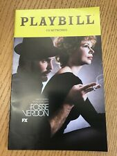 FOSSE/VERDON PLAYBILL FOR FX MINISERIES- BRAND NEW From Private Screening