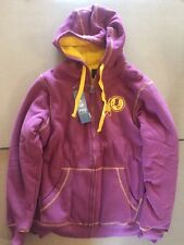 Pro Line Washington Redskins Retro Badge Hoodie Women's Small New Sweatshirt NWT