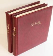 Rubens tolle Sammlung Gemäldemarken, Blocks in 2 Lindner Alben auf 142 Seiten