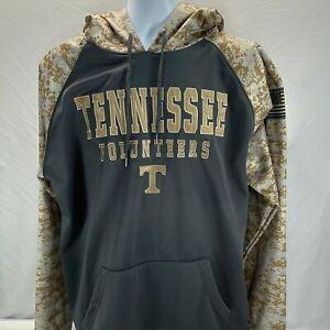 Tennessee Volunteers Men's XXL Digital Camo Hooded Sweatshirt Colosseum