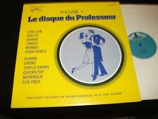 "DISQUE DU PROFESSEUR <>VOLUME 1<> 12"" Lp Vinyl~Canada Pressing~MANIBELLE MB20109"
