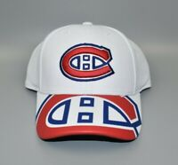 Montreal Canadiens Reebok NHL Face-Off Draft Flex Fitted Cap Hat - Size: S/M