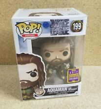 Funko Pop! Aquaman with Motherbox #199 Summer Convention Exclusive Damaged Box