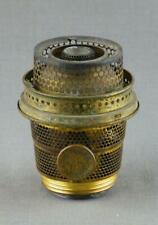 Aladdin Super Aladdin Brass Kerosene Paraffin Oil Lamp Burner used Complete