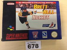 Super Nintendo Snes Brett Hull Hockey