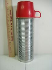 #2284 Thermos Corrugated Aluminum 1 Pint