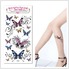 1PCS Removable Temporary Butterfly Tattoo Fake Tatoo Sticker Body Art Waterproof