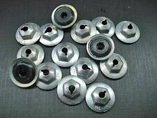 15 pcs 8-32 PAL nuts with neoprene sealer NORS GM GMC Chevy Cadillac Pontiac