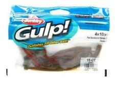 "Berkley 1139716 Gulp! Camo Fat Sandworm 4"" Saltwater Soft Bait Fishing Lure"