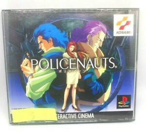 PlayStation PS 1 Policenauts Used Japan Import Game NTSC-J