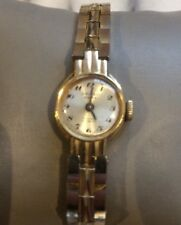 Vintage Oriosa 17 Jewels Ladies Incabloc Gold Wristwatch