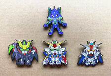 Anime Hobby SDCS Cross Silhouette RX-78-2 Gundam SD Metal Badge Pin Brooch N