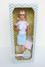 Mattel Barbie doll puppe welcome baby collector blond rar selten neu Signature