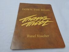 Vintage Travis Tritt Travel Voucher Press Folder