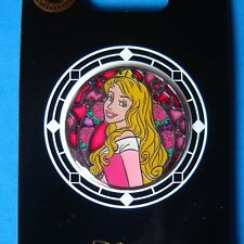2015 Disney TDR Aurora Stained Glass Circle Pin Rare