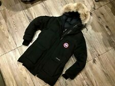 Canada Goose Expedition Parka woman size L black down jacket