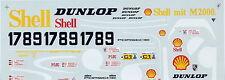 1/24 decal Porsche 962 SHELL LeMans