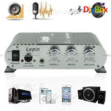 20W 12V Mini Hi-Fi Amplifier Booster Radio MP3 Stereo For Car Motorcycle Home