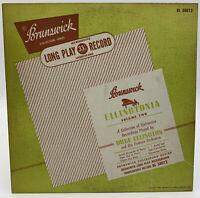 """Duke Ellington Ellingtonia 10"""" Record Volume 2 Jazz Brunswick BL 58012 33-1/3 10"""
