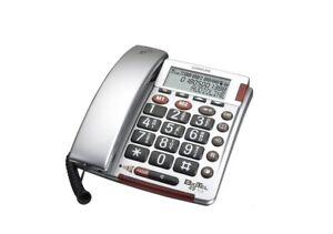 BigTel 49 Plus Telefon Seniorentelefon Großtasten programmierbare Notrufnummern