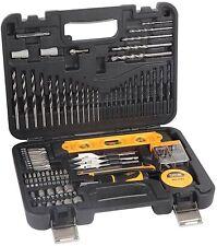 JCB Mixed Multi Purpose Drill Bit Accessory Set 100 Piece Complete Kit