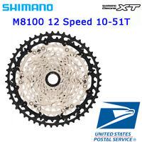 Shimano Deore XT CS-M8100 12 Speed 10-51T Cassette MTB