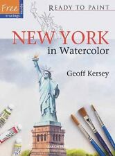 New York in Watercolor Ready to Paint