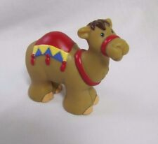 New! CHRISTMAS NATIVITY CAMEL RED SADDLE Fisher Price Little People Rare!