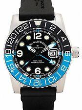 Zeno-Watch BASILEA SWISS MADE Airplane Diver 6349q-gmt-a1-4 Ronda ZAFFIRO 50 ATM