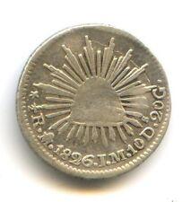 MEXIQUE 1/2 REAL 1826 Mo JM MEXICO Var. 6 SUR 5 KM 370.9