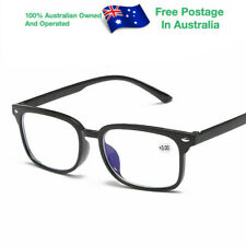 Mens Ladies Magnifying Bifocal Spectacles Anti Blue Light Reading Glasses W826