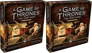 Thrones LCG *TWO CORE SETS x468 CARDS* Game of 2.0 aGoT 2nd