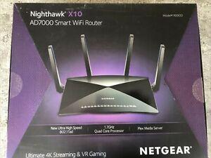 NETGEAR Nighthawk X10 AD7000 7 Port Wireless AD Router (R8900-100NAS)