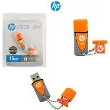 HP v245 64GB USB 2.0 Flash Drive (Orange / Purple)