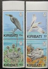 Kiribati 1989 Birds With Young Set. MNH.