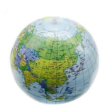 Earth Educational Geography PVC 40cm 16 Inch World Map Inflatable Toys Globe
