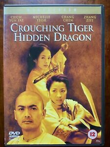 Crouching Tiger Hidden Dragon DVD 2000 Chinese Martial Arts Action Movie Classic