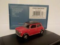 Model Car, Mini Cooper - Red, 1/76 New